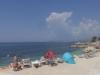 plaža ležaljke